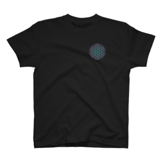 フラワーオブライフ(space) T-shirts