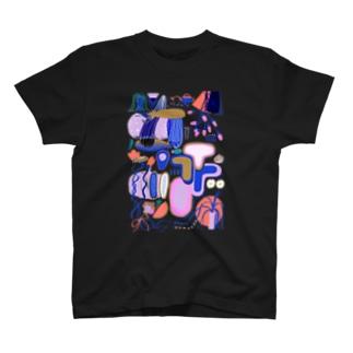 緩植物6 両面印刷 T-shirts