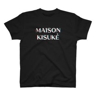 MAISON KISUKE アナグリフ T-shirts