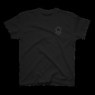 しゅんたのひまつぶしのおはなイラスト(黒系) T-shirts
