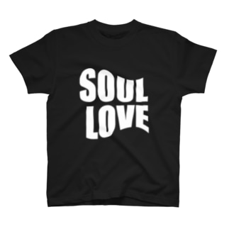 SOUL LOVE ロゴ third T-shirts
