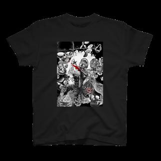 暗国の杜 SUZURI支店のDeath for me T-shirts