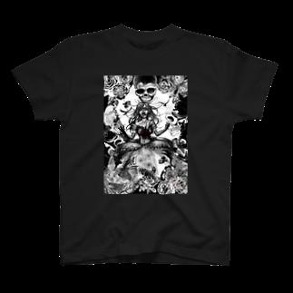 暗国の杜 SUZURI支店のGothic T-shirts