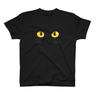 Cat (Yellow) T-shirts