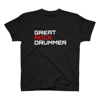 GRD Tシャツ ロゴ黒 T-shirts