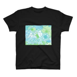オリジナル奄美柄Aタイプ T-shirts