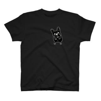 フレブル背面も後ろ姿あるよ~ T-shirts