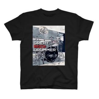 GRD Tシャツ イラスト黒 T-shirts