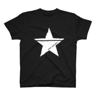 ダイスキッチン応援グッズ(ワンスター白) T-shirts