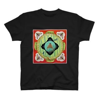 松竹梅食草曼荼羅 T-Shirt