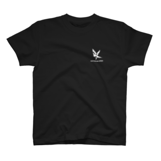 はやトンのオリジナルショップのHAYABUSA SPEEDデザインその1 白バージョン T-shirts