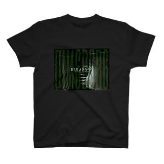 残像FACE infection/DB_12 T-shirts