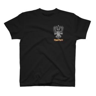 アマビエチャレンジ:野村啓介(白) T-shirts