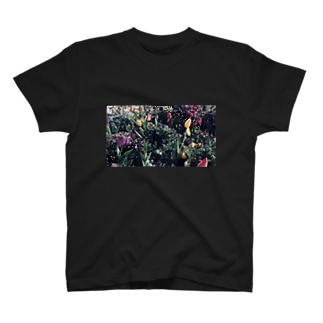 フラワーTシャツ T-shirts