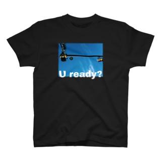 U ready? ヨコ T-shirts