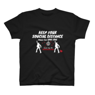 ソーシャルディスタンスTシャツ T-shirts