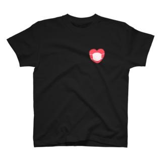 心のマスクグッズ T-shirts