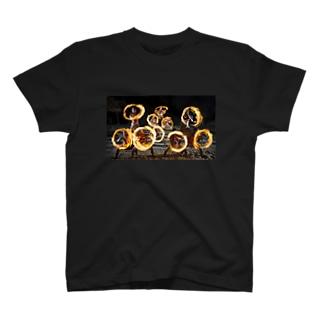 ファイヤーナイフ T-shirts