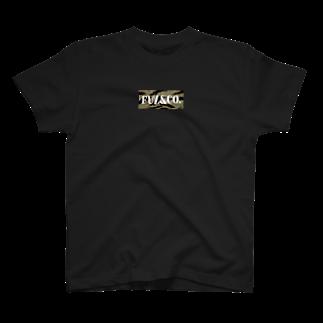 Fuz.&Co.のFUZ&CO. タイガーカモBOXロゴ T-shirts