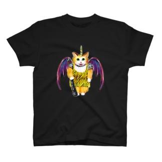 ヘビメタキャット T-shirts