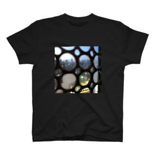 どこかのスタバからの景色 T-shirts