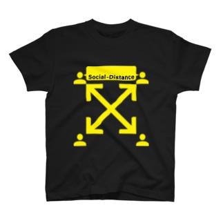 【クリエイターズ】Cross Sosial Distance T-shirts