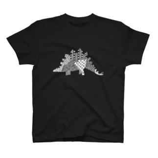 ステゴサウルス T-shirts
