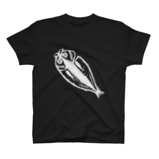 HKSHRY27のアジの開き(反転) T-shirts