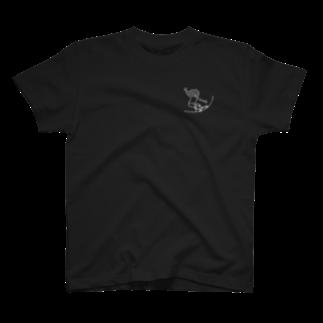 K :)のFSG白胸ポケ T-shirts