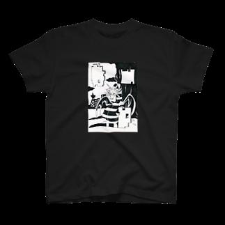 明白のドラゴン T-shirts