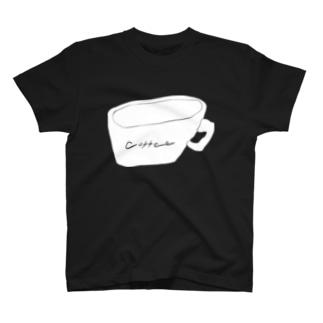 夜のコーヒー T-shirts