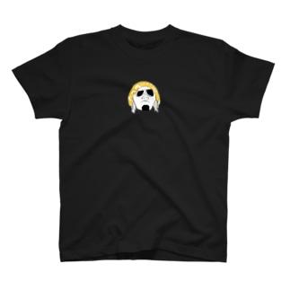 反町フェイス(顔白) T-shirts