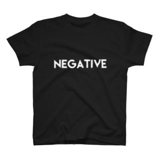 NEGATIVE Tシャツ T-shirts