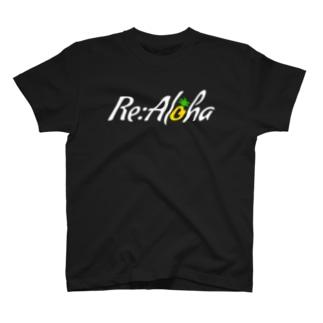 Re:Aloha(白字ver) T-shirts