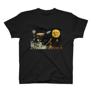 Guignolの「天体観測展・月世界旅行」 T-shirts