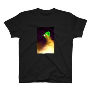 羊年賀状ちゃん T-shirts