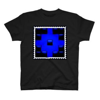 BLACK × BLUE by RYONCHY T-shirts