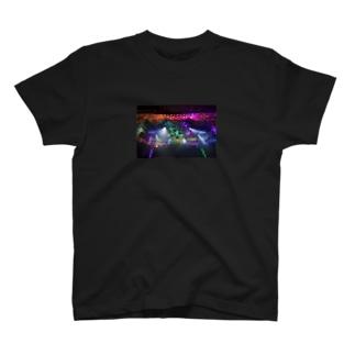 ミラーボールTシャツ T-shirts