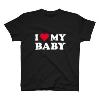 I ♡ MY BABY T-shirts