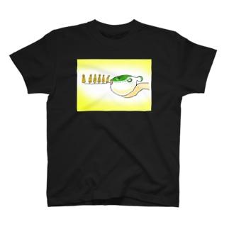 仏を吐くフグ T-shirts