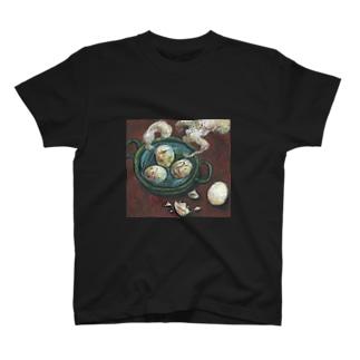 ゆで卵たち T-shirts
