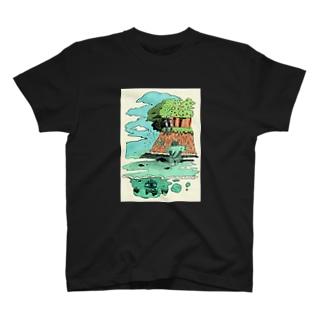 ピクニック Tシャツ