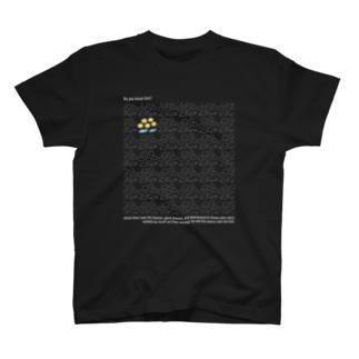 5つのパンと2匹の魚【白もじ!】 T-shirts