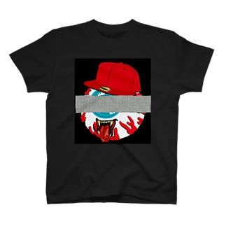 目玉とモザイク T-shirts