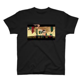 便所のある風景 T-shirts
