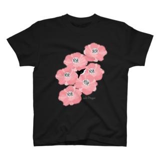 花とサメ T-shirts