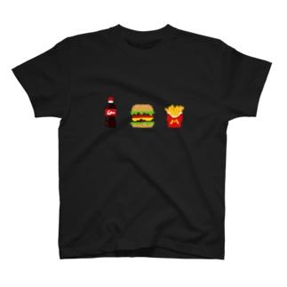ハンバーガー T-shirts