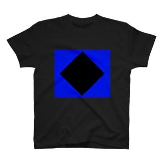 BLACK × BLUE by RYONCHY T-shirts