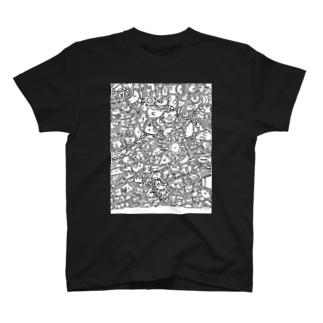 ひま暇お絵描き ① T-shirts