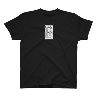 りおたのぼったくりバーのレシート T-shirts